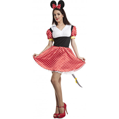 Disfraz de Minnie Mouse para Adulto