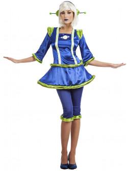 Disfraz de Marciana Galáctica para Mujer