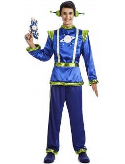 Disfraz de Marciano Galáctico para Hombre
