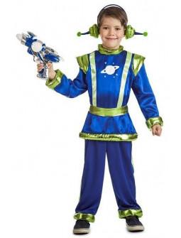Disfraz de Marciano Galáctico para Niño