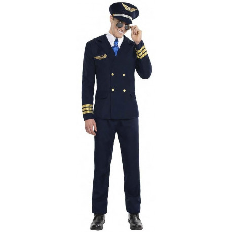 Disfraz de Piloto de Avión para Hombre