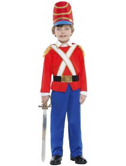 Disfraz de Soldadito de Plomo Rojo para Niño