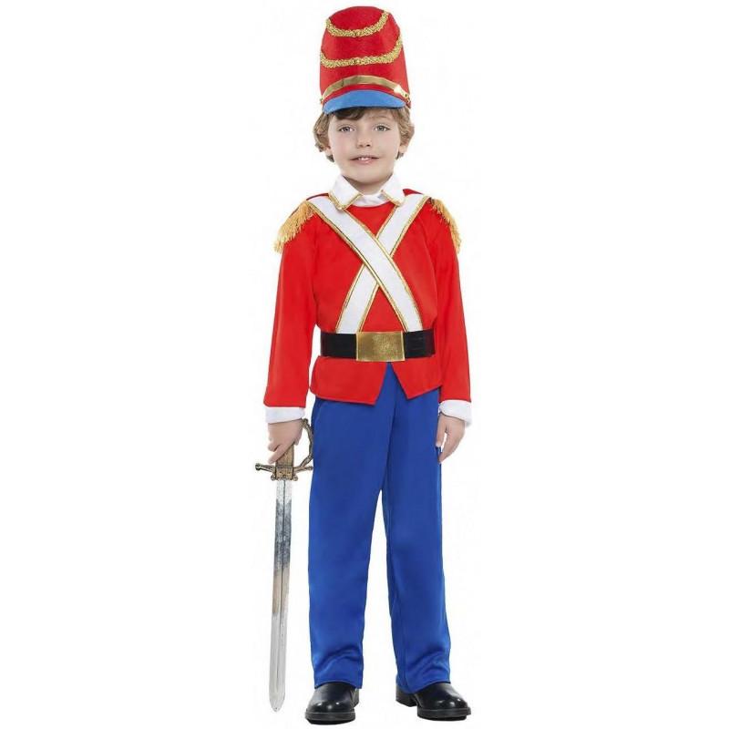 Disfraz de Soldadito de Plomo Rojo para Niño  37c08df3a133