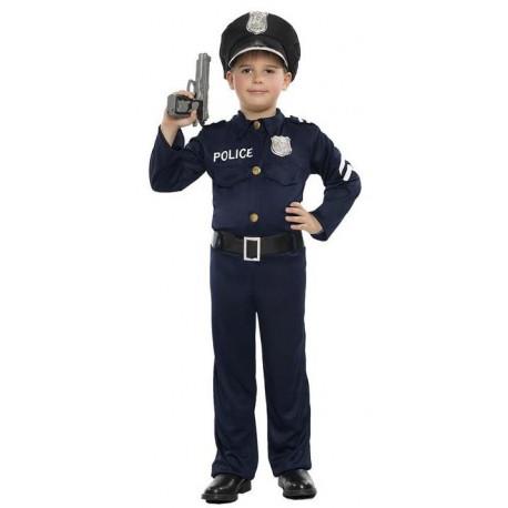 Disfraz de Policía Americano para Niño
