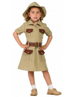 Disfraz de Exploradora Aventurera para Niña