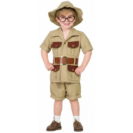 Disfraz de Explorador Aventurero para Hombre