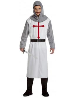 Disfraz de Caballero Templario Medieval para Hombre