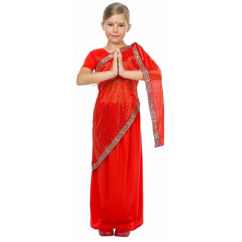 7c42fe7b50 Disfraz de Hindú Bollywood para Niña