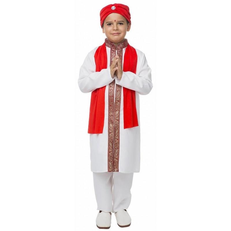 b9a7e3531d Disfraz de Hindú Bollywood para Niño