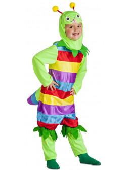 Disfraz de Gusano Colorido para Niño