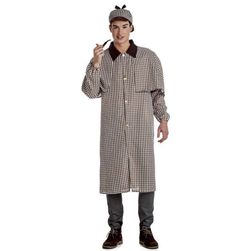 9bf3be187 Disfraz de Sherlock Holmes para Hombre