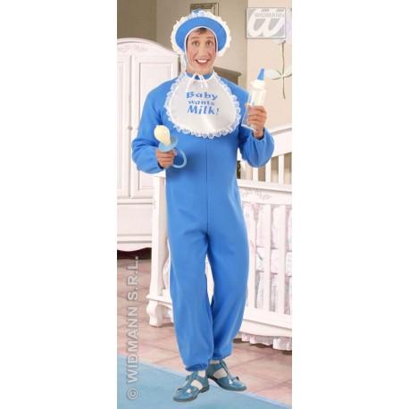 Disfraz de Bebe en azul