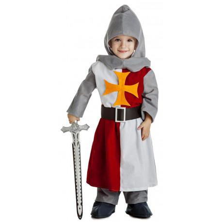 Disfraz de Caballero Cruzado Medieval Infantil