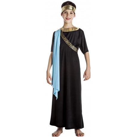 Disfraz de Senador Romano Negro para Niño