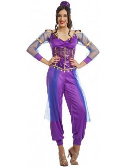 Disfraz de Bailarina Árabe Shimmer para Mujer