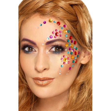 Gemas de Colores para Maquillaje Facial