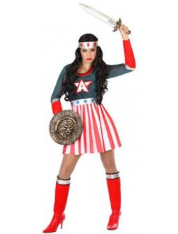 Disfraz de Capitana América para Mujer