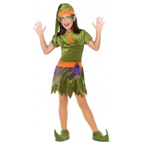 Disfraz de Duende del Bosque para Mujer