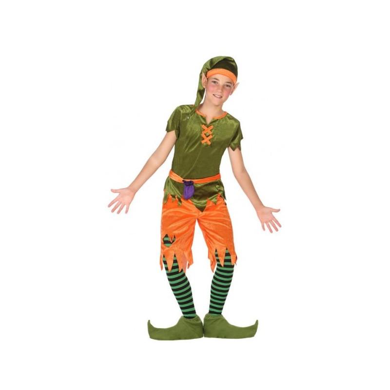 Disfraz de duende del bosque para ni o comprar online - Traje de duende para nino ...