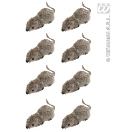 Pack de 8 mini ratones