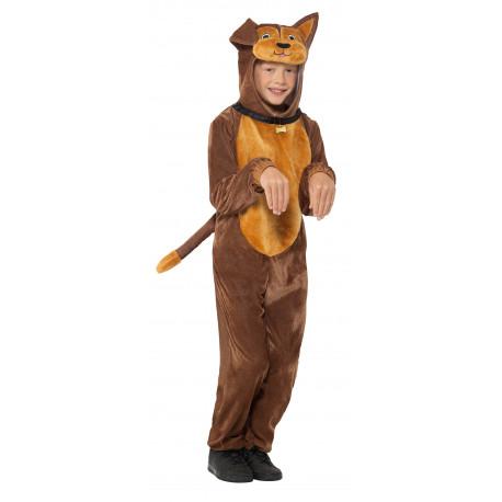 Disfraz de Perro Marrón para Niño