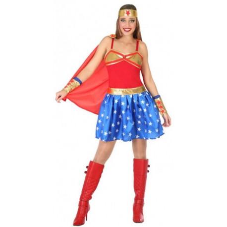 Disfraz de Wonder Woman Clásica para Mujer
