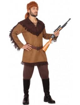Disfraz de Cazador Trampero para Hombre