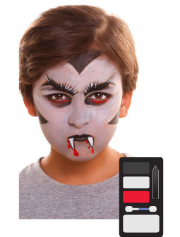 Kit de Maquillaje de Vampiro Infantil