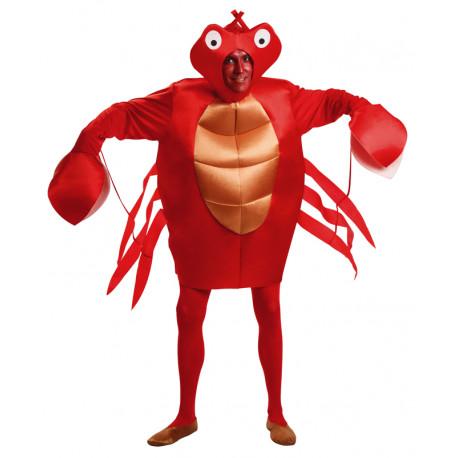 Disfraz de Cangrejo Rojo para Adulto