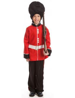 Disfraz de Guardia Inglesa para Niño