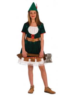 Disfraz de Robin Hood para Niña