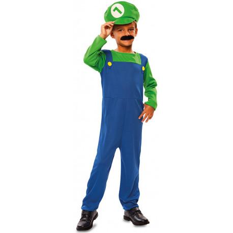 Disfraz de Luigi para Niño