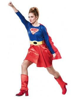 Disfraz de Supergirl para Adulto