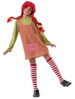 Disfraz de Pippi Langstrump para Niña