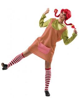 Disfraz de Pippi Langstrump para Mujer
