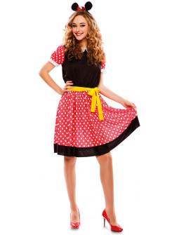 Disfraz de Ratita Minnie para Mujer
