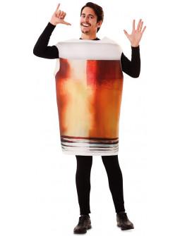 Disfraz de Caña de Cerveza para Hombre