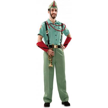 Disfraz de Legionario Verde para Hombre