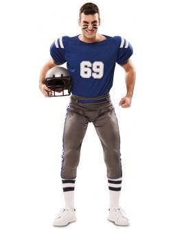 Disfraz de Jugador de Rugby para Adulto
