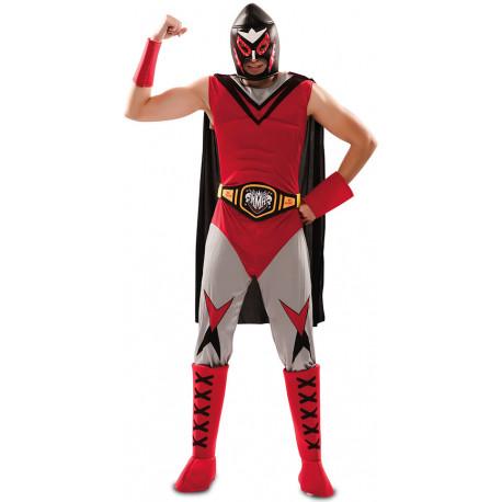 Disfraz de Campeón Lucha Libre Mexicana para Hombre
