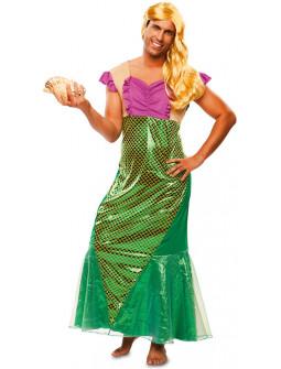 Disfraz de Sirena para Hombre
