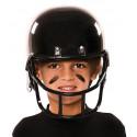 Casco de Rugby Negro Infantil