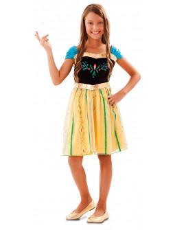 Disfraz de Princesa Anna de Frozen Fever para Niña