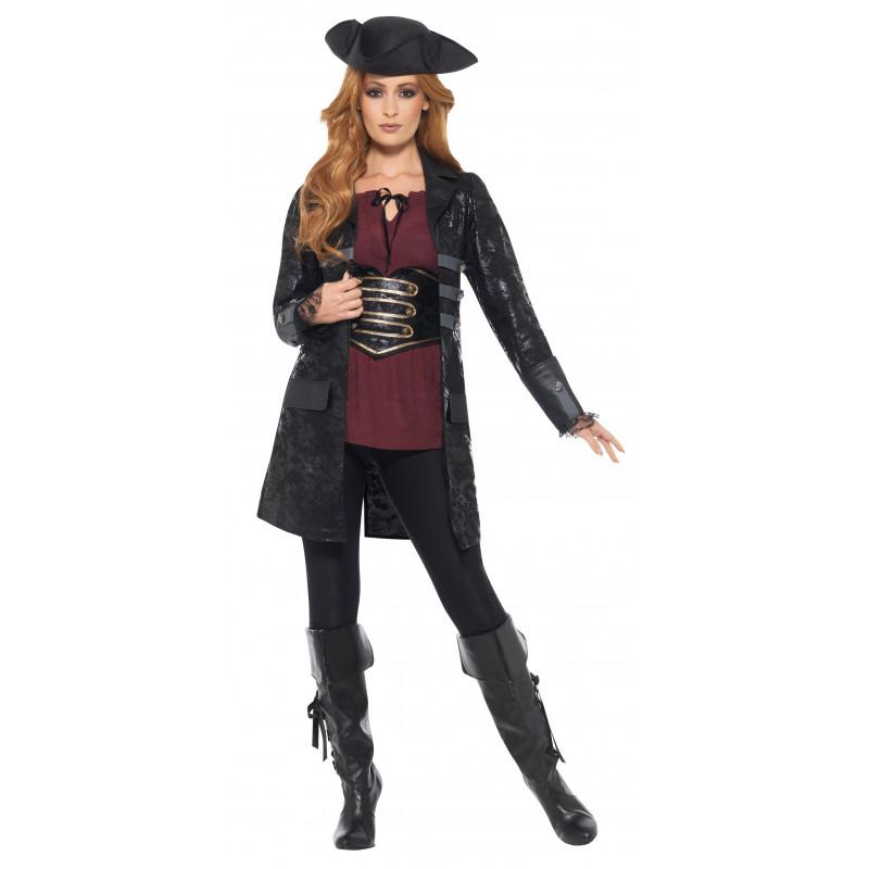 Capitán MujerComprar Chaqueta De Negra Para Pirata Online dxBtsChQro