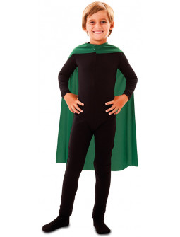 Capa de Superhéroe Verde 70cm