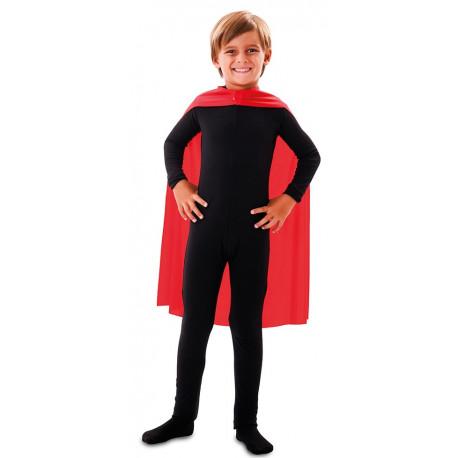 Capa de Superhéroe Roja Infantil