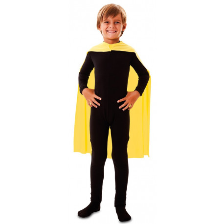 Capa de Superhéroe Amarilla Infantil