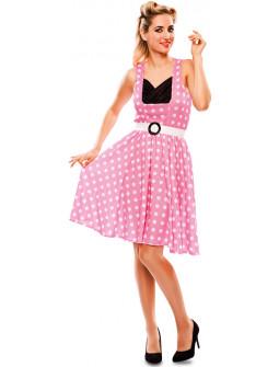 Disfraz Rosa Años 50 para Mujer