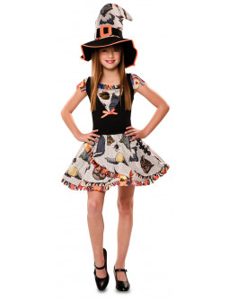 Disfraz de Bruja Divertida Infantil