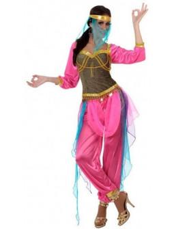 Disfraz de Princesa Árabe Rosa para Mujer